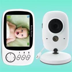 Monitor de bebé Color Video inalámbrico babyfoon baba seguridad electrónica 2 conversación Luz de visión LED control de temperatura bebebek telsizi