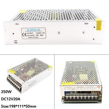 Zasilanie 12 V transformatory oświetleniowe 2A 3A 5A 10A 15A 20A 12 V 12 V taśmy LED sterownik zasilacza transformatory oświetleniowe LED tanie i dobre opinie doxa Brak ROHS aluminum led special-purpose Hz50-60 0 3kg 12V POWER SUPPLY 220V None AC 220V DC 12V For Led Strip CCC FCC CQC RoHS CE