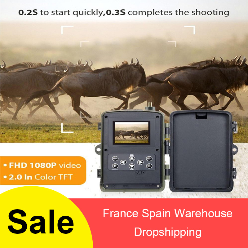 HC - 801G 3G Multiple Hunting Camera 16MP 1080P Full HD Videos Trail Camera Megapixel Waterproof 940nm Infrared LEDs Cameras