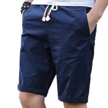 Мужские повседневные шорты, летние хлопковые дышащие шорты, шорты-бермуды, большие размеры 628, 2019