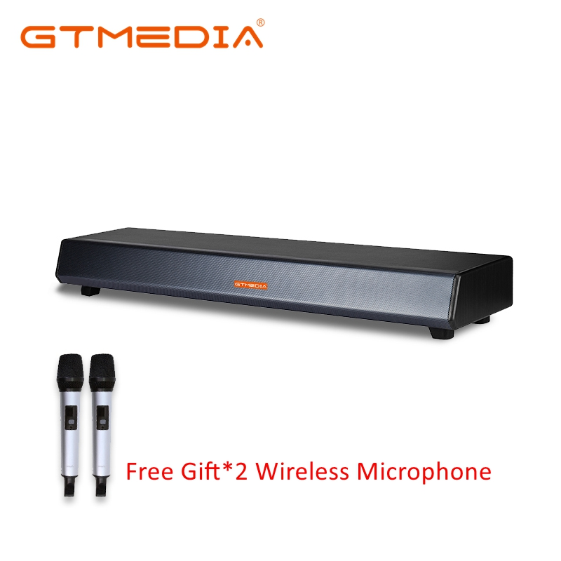 GTMEDIA Soundbar TV Bar Wireless Bluetooth/HDMI/Optical Powerful Amplifier Subwoofer Built-in Smart OTT/IPTV Box Hi-Fi Speaker image