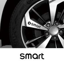 Voiture vinyle Film autocollants Auto roue jante Sport style réfléchissant décalcomanies pour Smart 451 453 Fortwo Forfour accessoires de décoration