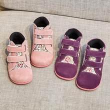 Tipsietoes 2021 Nieuwe Winter Kinderen Schoenen Leer En Doek Martin Laarzen Kinderen Snowboots Meisjes Jongens Mode Sneakers Chaussure Fille