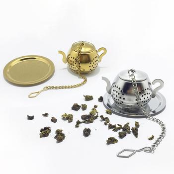 Sitko do herbaty ziołowy filtr ze stali nierdzewnej czajniczek do herbaty zaparzacz do herbaty Spice Flower akcesoria do herbaty zaparzaczka do herbaty tanie i dobre opinie JETTING CN (pochodzenie) STAINLESS STEEL