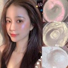 3-color high-gloss glitter highlighter 3d contorno facial maquiagem paleta impermeável de longa duração brilho brilho maquiagem ferramentas
