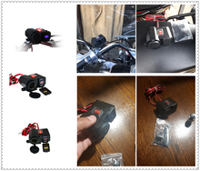 Universal Motorcycle Accessories Mobile Phone USB Charger for Kawasaki ZZR600 Z900 Z650 VERSYS 1000 VULCAN S 650cc Z750 Z750S