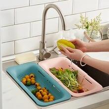Полка для слива раковины кухонный Органайзер из пластика пластинки