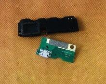 Б/у оригинальная зарядная плата с USB разъемом + Громкий динамик для HOMTOM ZOJI Z6 MTK6580 Quad Core Бесплатная доставка
