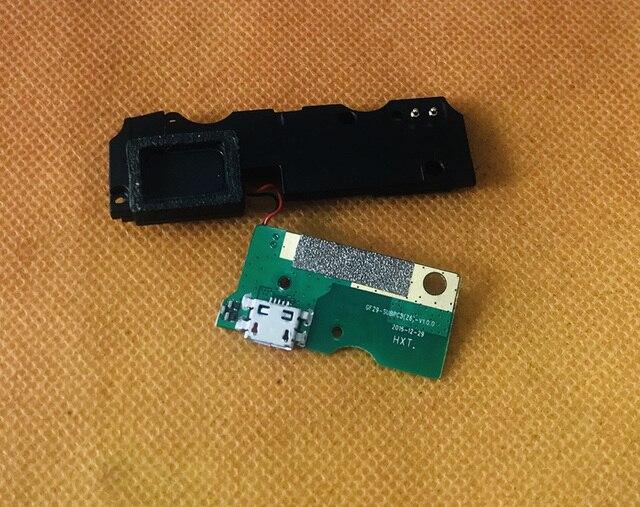 Used Original USB Plug Charge Board+loud speaker For HOMTOM ZOJI Z6 MTK6580 Quad Core Free Shipping