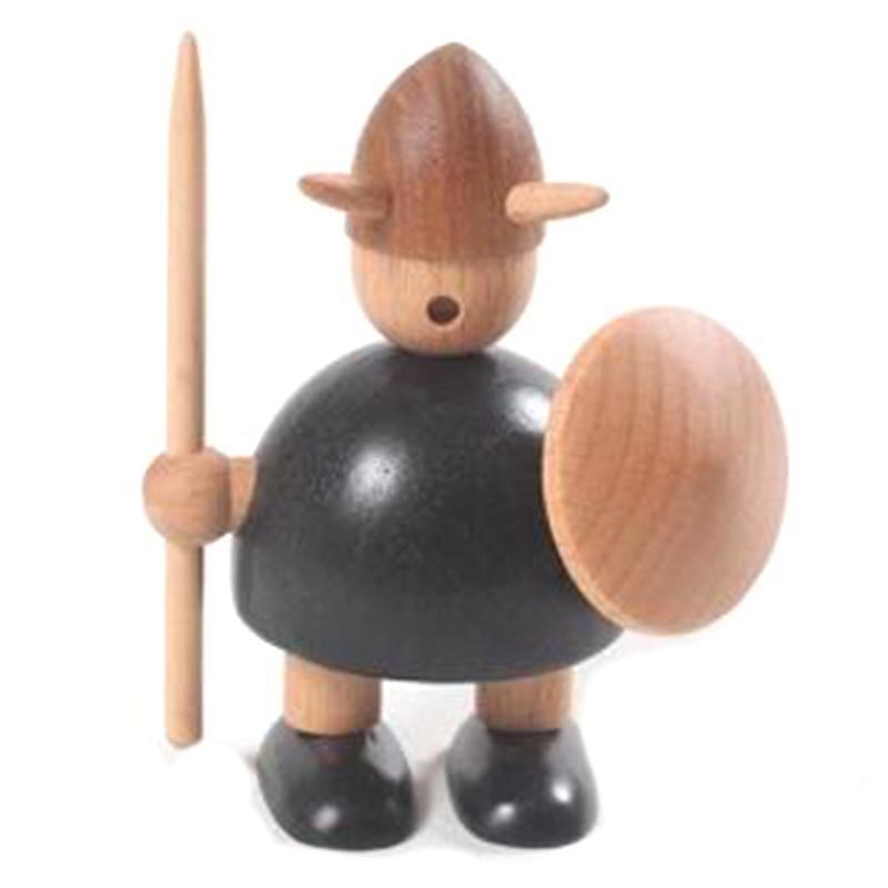 TOP!-Nordic  Wood Carving Vikings Household Decorations Solid Interior Ornaments Creative Gifts Small