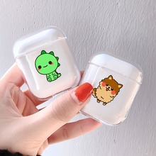 Soft Silicone Cute Air Pods Case For Apple airpods Case Luxury Animals Dog Baby AirPods Case In Bluetooth Earphone Accessories 3d lucky rat cartoon bluetooth earphone case for airpods pro cute accessories protective cover for apple air pods 3 silicone