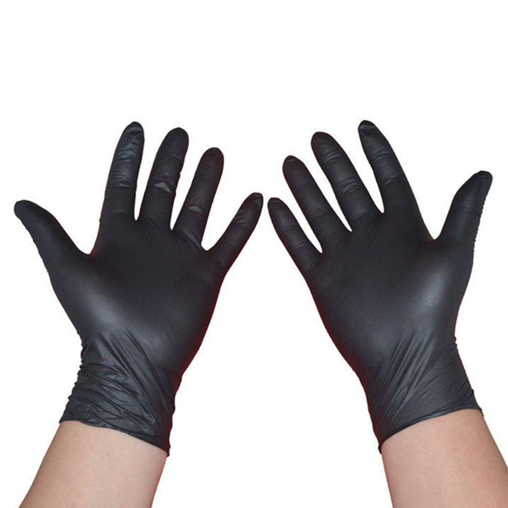 100PCS/SET Household Cleaning Washing Disposable Mechanic Gloves  Laboratory Nail Art Anti-Static Gloves