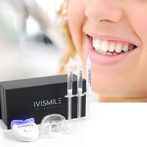 Image 2 - dental teeth whitening light led  Blue Laser 35%CP Peroxide Dental Bleaching System Oral Gel Set  dental instruments