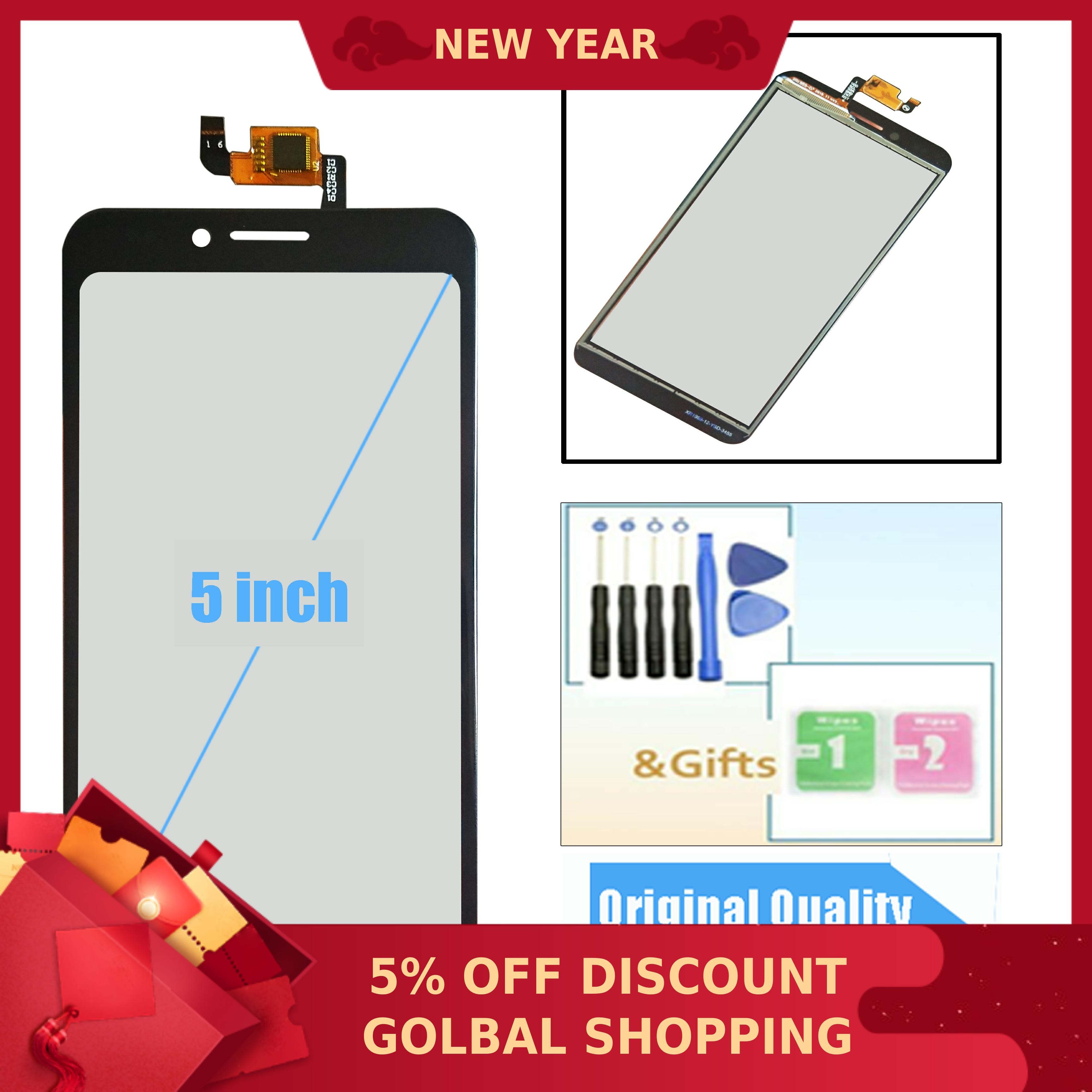 New 5.0inch For INOI 3 Power / INOI 3 Lite / INOI 3 Touch Screen Digitizer Glass Sensor Panel Lens Glass Replacement