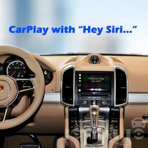 Image 2 - Joyeauto Senza Fili di Apple Carplay Per Porsche Cayenne Macan Cayman Panamera Boxster 718 911 PCM3.1 Android Auto Gioco Auto Adattatore