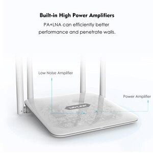 Image 2 - 】 Wavlink 高電力デュアル · バンド AC1200 無線ルータ無線 Lan エクステンダー 4 * 5dBi 高利得アンテナと広いカバレッジ WPS 簡単セットアップ