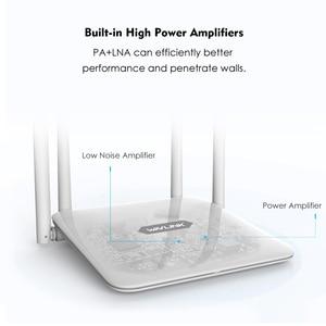 Image 2 - Беспроводной маршрутизатор Wavlink AC1200, мощный двухдиапазонный Wi Fi расширитель с антеннами с высоким коэффициентом усиления 4*5 дБи, более широкое покрытие, WPS простая настройка
