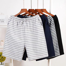 Men home casual Pajamas shorts  pants Male sleep bottoms trunks Men Sleepwear trousers Underpants loose Men leisure Undershorts