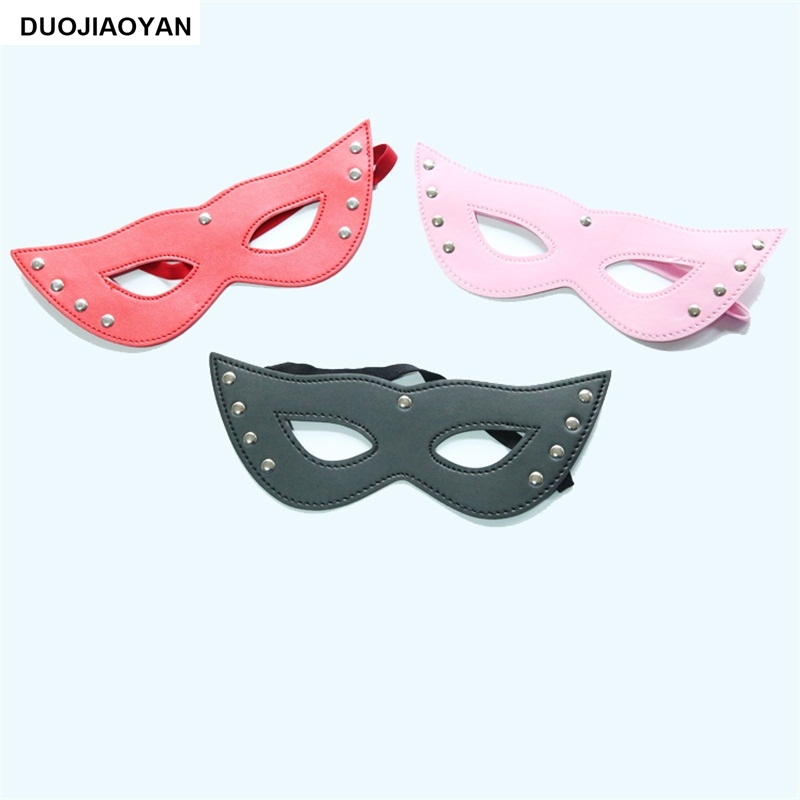 DUOJIAOYAN New Adult Sex Products Leather Liuting Fox Eye Mask Ball Mask Flirting Alternative Toys