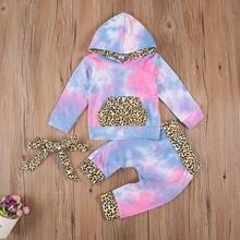 Комплект одежды emmababy для новорожденных девочек Топ с длинным