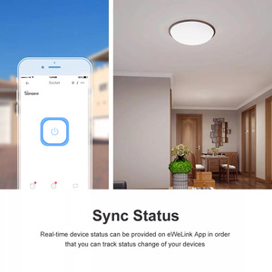 Image 3 - Itead SONOFF בסיסי R2 Wifi מתג מודול חכם בית טיימר אור מתג אוניברסלי DIY מתג עובד עם Alexa Google בית
