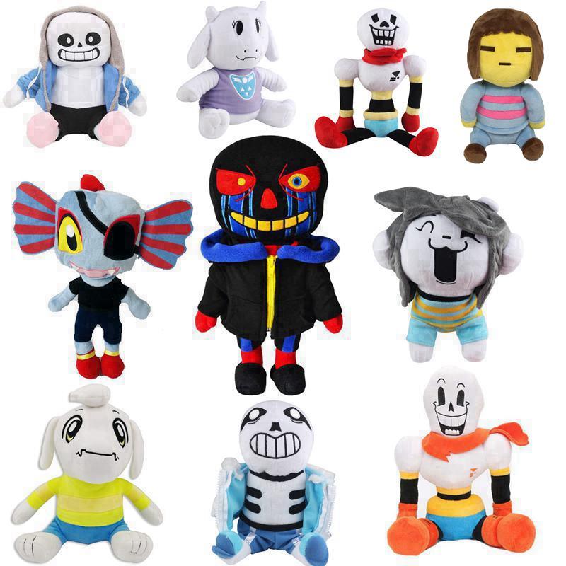 Undertale Sans Asriel Toriel Stuffed Plush Doll For Kids Christmas Gift Toy(China)