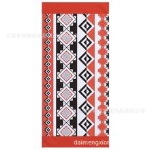2019 Boho Bohemian Style Sea Beach Towel Summer Rectangular Towels Geometric Kilim Print Bath Toalha De Banho