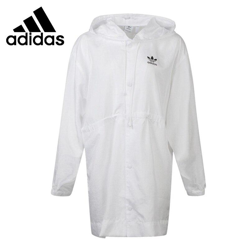 Original New Arrival  Adidas Originals WINDBREAKER Women's  jacket Hooded  Sportswear