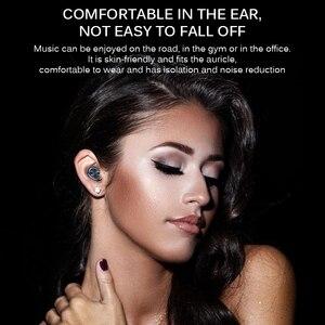 Image 3 - B5 tws 무선 이어폰 스테레오 블루투스 이어폰 무선 이어폰 블루투스 5.0 마이크 터치 음악 전화 헤드셋