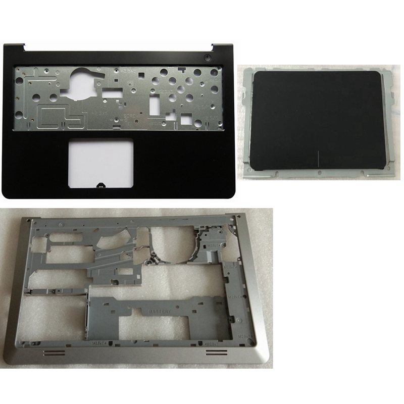 New for dell inspiron 15-5000 5545 5547 5548 15m laptop palmrest upper case base bottom cover lower case touchpad dp/n 0whc7t