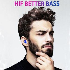 Image 2 - QCR G01 אלחוטי אוזניות 5.0 TWS Bluetooth אוזניות אלחוטי אמיתי סטריאו EarBud ספורט דיבורית אוזניות עם טעינת מיקרופון