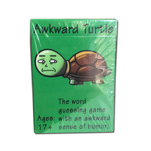 Awkward turtle Board Game Card Game Funny Party Game Family Friend Entertainment Playing Card Games card o ender s game