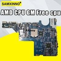 592809 001 for HP G62 CQ62 CQ42 G42 motherboard DA0AX2MB6E0 DA0AX2MB6E1 DA0AX2MB6F0 DDR3 maiboard Free cpu