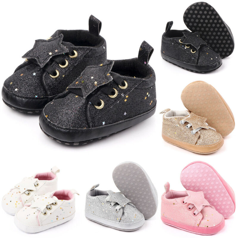 Newborn Baby Girl Boy Shoes Kids Children Zapatos Bebe Walking Shoes