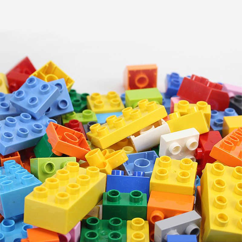 Bausteine 61-366 Pcs Duploes Serie DIY Große Ziegel Montage Große Partikel Groß Block Pädagogisches Spielzeug Kinder Geschenk