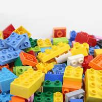 Building Blocks Fit Brand 61Pcs Duploes Series DIY Big Bricks Large Particles Animals Series Educational Toys Kids Gifts
