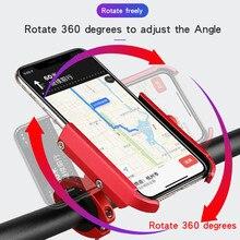Велосипедный держатель для телефона для велосипеда, держатель для Руля Мотоцикла, держатель для смартфона, зарядка через usb, 3800 мАч, блок питания