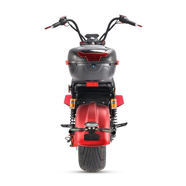 2021 Factory Supply EU Warehouse 2000W 20Ah Hydraulic Shock Absorber Adult Citycoco Electric Motorcycle Scooter 6