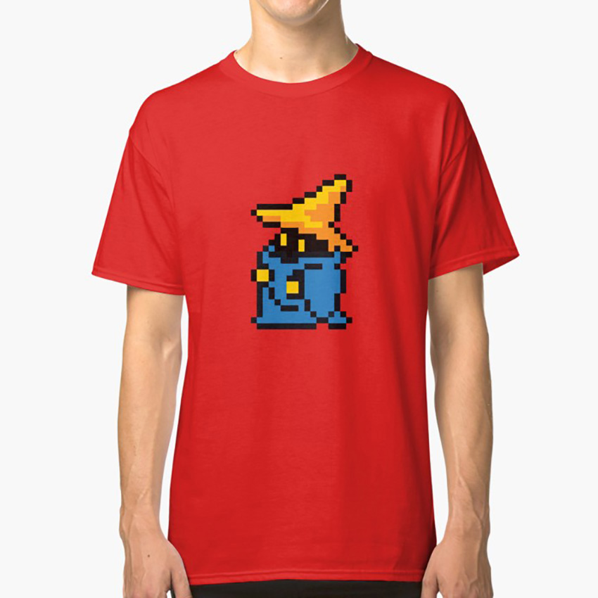 pixel black mage T shirt nerd final fantasy rpg game games magic mage pixel case phone case image