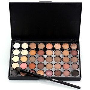 Image 4 - 40 Color Eyeshadow Palette Make Up Earth Eye Shadow Cosmetic Glitter Waterproof Long Lasting Makeup Tools For Women Beauty