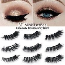 CLOTHOBEAUTY False Eyelashes Natural Thick Long Volume Eye Lashes 3d Mink Hair Eyelashes Makeup Extension, mink eyelashes-3DY
