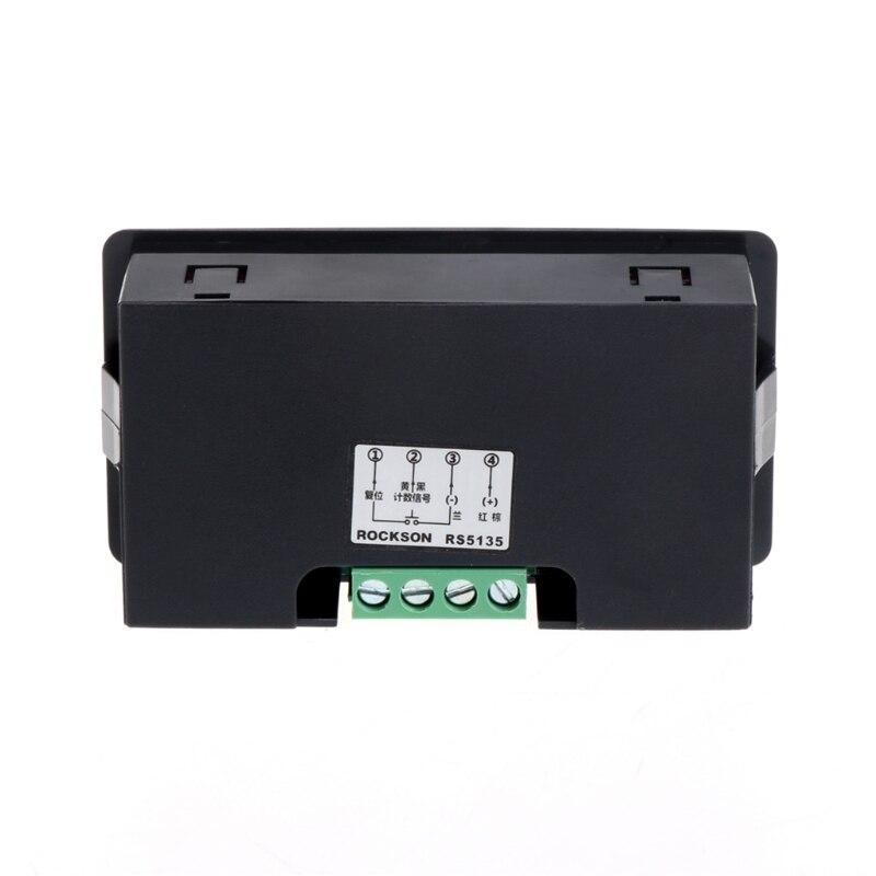 painel contador medidor para cima mais totalizador 0-99999