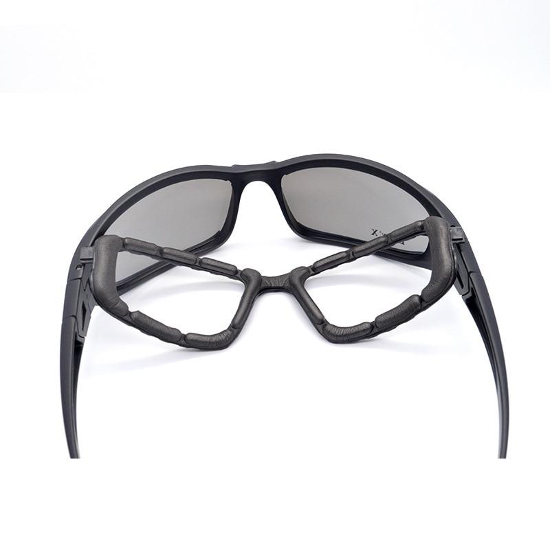Taktische polarisierte Brille Militärbrille Armee Sonnenbrille mit 4 - Camping und Wandern - Foto 5