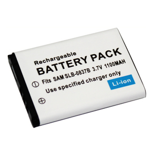 1100mAh SLB-0837B SLB-0837(B) SLB0837B Camera Battery for Samsung Digimax I6 PMP L50 L60 L80 i70 i70S L700 L700S L73 NV3 NV5 NV7