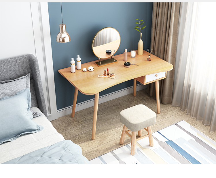Bedroom Dressing Table  Women Makeup Dressers Study Desk Dresser Table With  Mirror туалетное зеркало парта