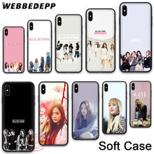 193N BLACK PINK BLACKPINK kpop Soft Silicone Case for Apple iPhone 11 Pro X XR XS Max 7 8 6S Plus 5S SE 11 Pro Max Cases(China)