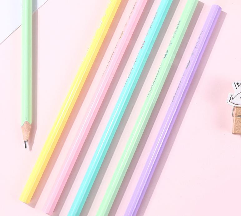 Desenho Esboço Do Lápis de Papelaria Da Escola do Escritório