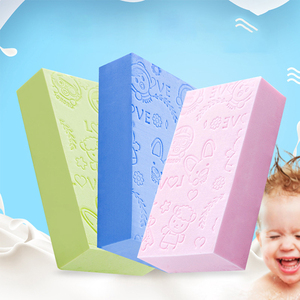 Ultra Soft Body Cleaning Baby Bath Sponge Child Exfoliating Bath Brushes Cotton Rubbing Kids Shower Accessories Shower Ball