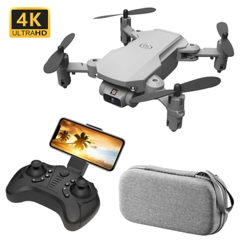 цена KaKBeir Mini RC Foldable drone 4K 1080P 480P HD Camera FPV WiFi Selfie Helicopter Profesional Drones RC Quadcopter Toys for boys онлайн в 2017 году
