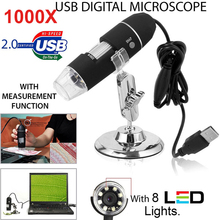Black ABS Inspection Monitoring Waterproof Real-Time Video Portable Ear Cleaning Tool Computers Digital Microscope Photos стоимость